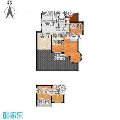 环球香樟园234.34㎡户型10室