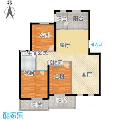环球香樟园111.49㎡户型10室