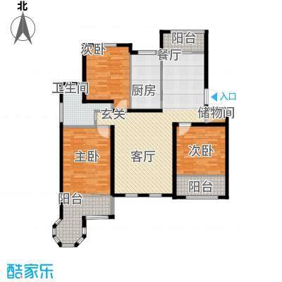 环球香樟园117.14㎡户型10室