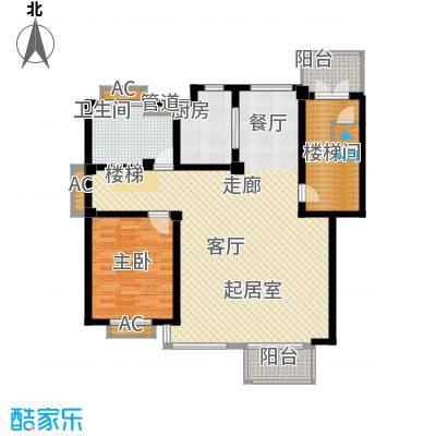 嘉兴丽苑236.19㎡B-110型复式(下层)户型4室2厅2卫