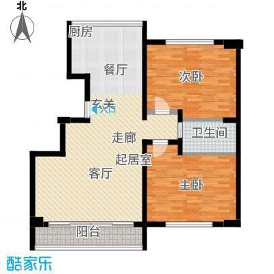 文庭雅苑二室二厅一卫-96-103平方米户型