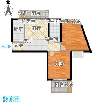 天山怡景苑二房一厅一卫 87-91平方米 570套户型