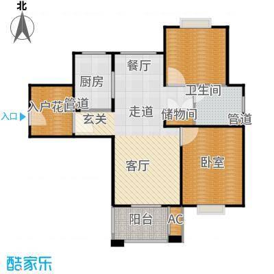 招商南桥1号90.00㎡二房二厅一卫-94平方米-14套户型