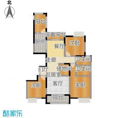 徽盐世纪广场G2户型3室2厅2卫