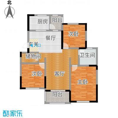 环球香樟园110.91㎡户型10室