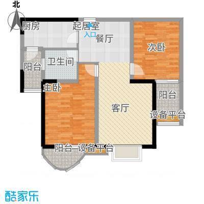 贻成・御景国际2室2厅1卫
