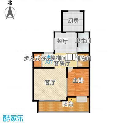 靓都公馆110.99㎡138#(B)复式下层户型10室