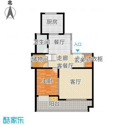靓都公馆113.32㎡138#(A)复式下层户型10室