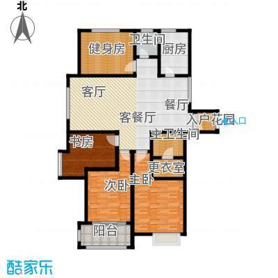 舜奥华府165.00㎡南区9#楼偶数A户型4室2厅2卫1厨户型4室2厅2卫