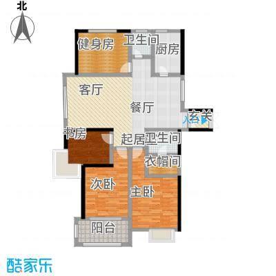 舜奥华府四室两厅一厨两卫A2户型图户型4室2厅2卫