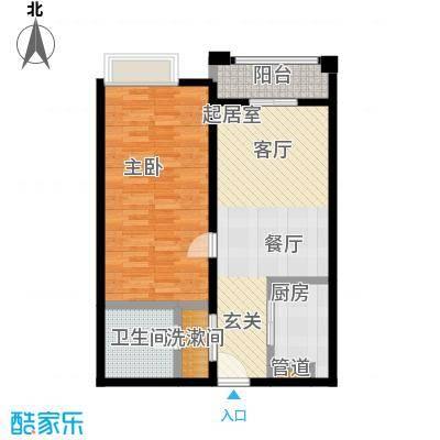 明发商业广场76.01㎡A3户型