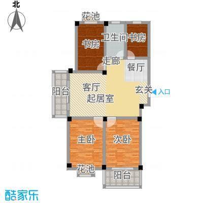 翡翠城C户型4室1卫