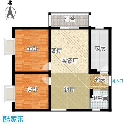 国宾中央区82.00㎡户型10室