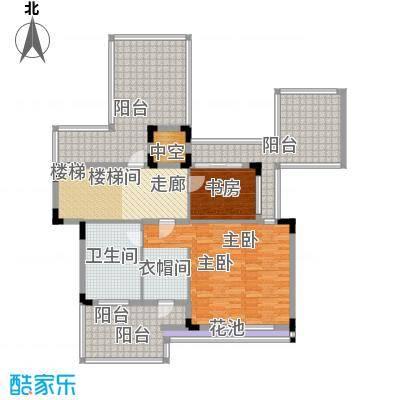 招商观园VC1(4)户型3层平面户型6室3厅5卫