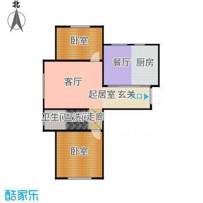 华海城户型1厅1卫