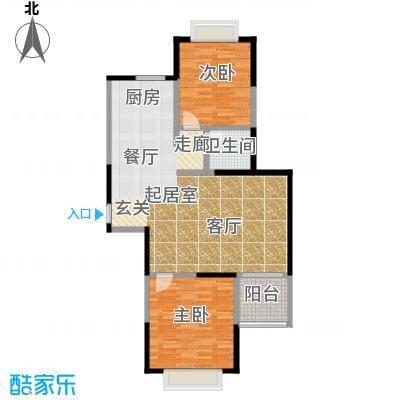 新湖明珠城89.00㎡G5户型10室