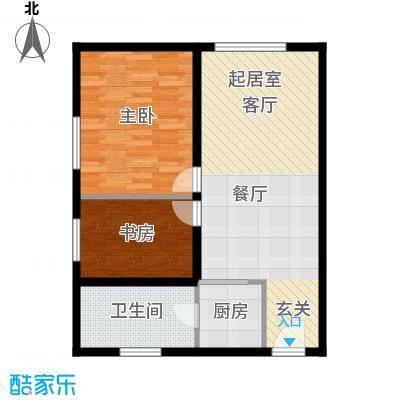 科贸时代国际公寓A户型一室 100㎡户型