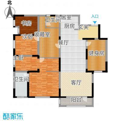 国耀紫溪观邸220.00㎡宽境逸墅 改造户型4室2厅2卫