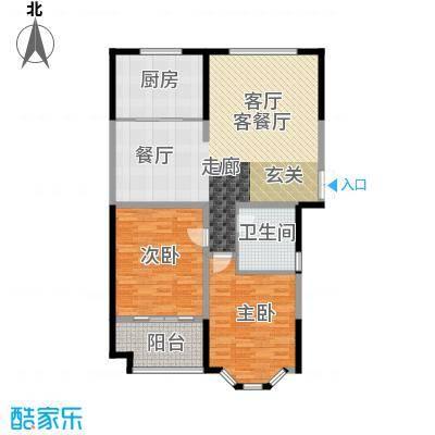 圣兰菲诺户型2室1厅1卫1厨
