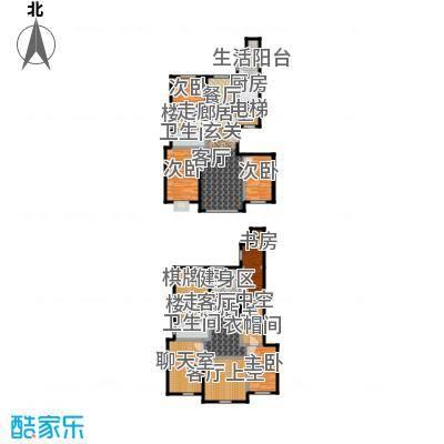 恒昌卢浮公馆户型5室2卫1厨