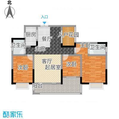 新世界曦岸118.00㎡5栋2单元01号房户型3室2厅2卫