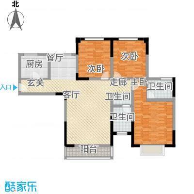 青秀家园123.57㎡3室2厅2卫