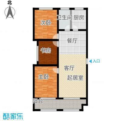 石臼老街15-A户型3室1卫1厨