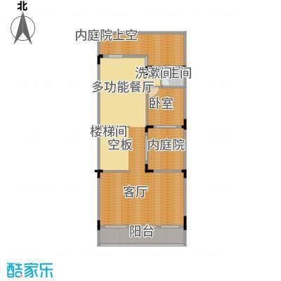 五矿哈施塔特96.21㎡联排别墅TD2负一层户型10室