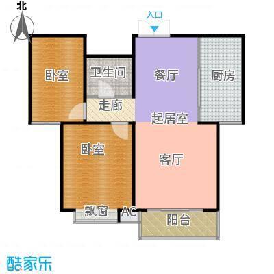 华研香水湾户型1卫1厨