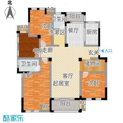 嘉城南都苑164.00㎡G-1-3/G-4-3户型4室2厅2卫