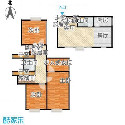 梅龙 枫香庭院135.00㎡A4户型4室2厅2卫