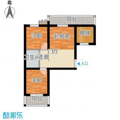 香格里拉・上河湾67.50㎡2室1厅1卫