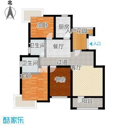 天一海尚阳光122.33㎡C户型3室2厅2卫