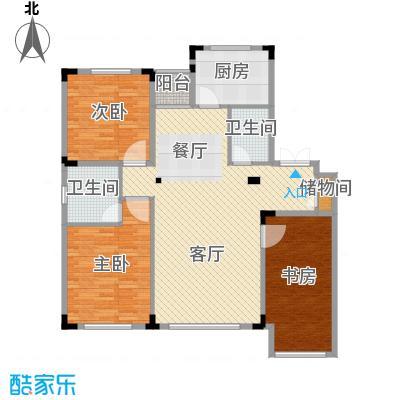 葫芦岛龙湾壹品114.74㎡户型3室2厅2卫