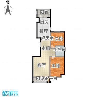 国宝壹号122.52㎡户型图户型2室2厅1卫