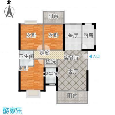 中誉南岸公馆108.88㎡户型10室