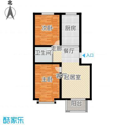 温阳海港城91.42㎡3室2厅1卫