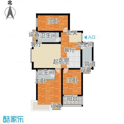 广源天际155.00㎡3室2厅1卫