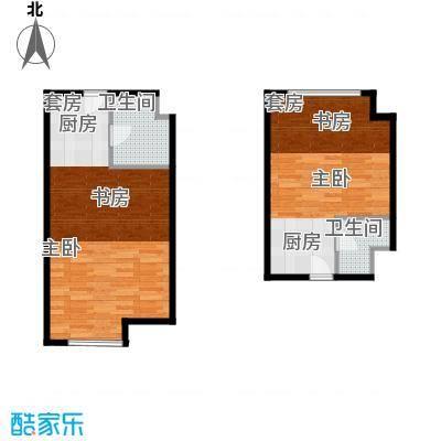 世贸天街E10-E16户型1室1卫