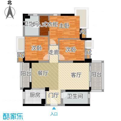万科柏悦湾113.00㎡9栋01、04户型3室2厅2卫