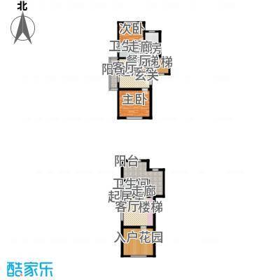 公元2099112.22㎡19号楼、21号楼户型2室2厅2卫