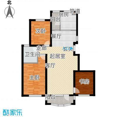 昌宇星河湾111.57㎡D户型3室2厅1卫