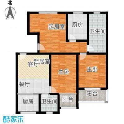 藏龙镇116.74㎡A户型2室2厅2卫