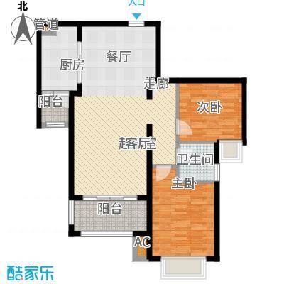 新华联广场99.10㎡C-4户型2室2厅1卫户型2室2厅1卫