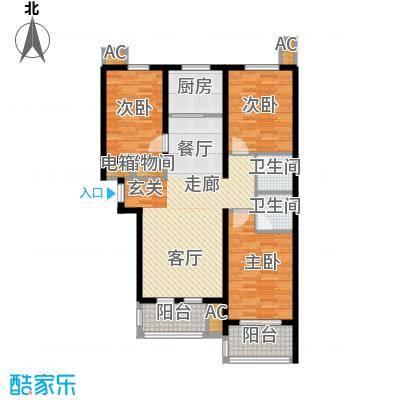 新华里188号户型图户型3室2厅2卫