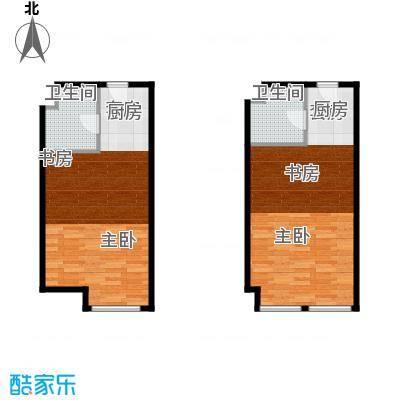 世贸天街E2-E4户型1室1卫