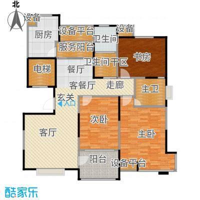 风尚米兰126.00㎡3室2厅2卫面积:126平方米户型3室2厅2卫