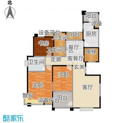 风尚米兰129.00㎡3室2厅2卫面积:129平方米户型3室2厅2卫