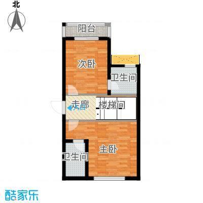 龙基雅墅232.00㎡B家庭层户型5室2厅7卫