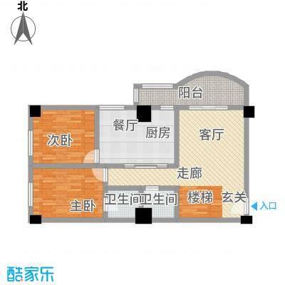 大欣圆梦园5.00㎡大欣圆梦园 舒雅小复式下层 5室2厅3卫户型